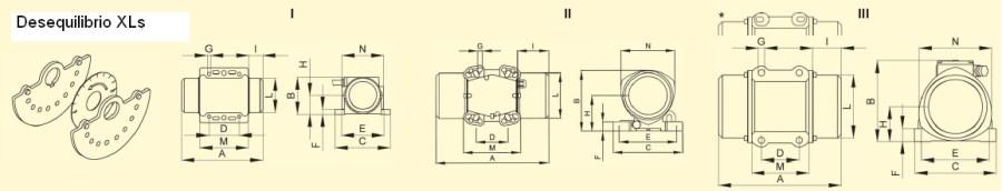 Tabela Motovibrador